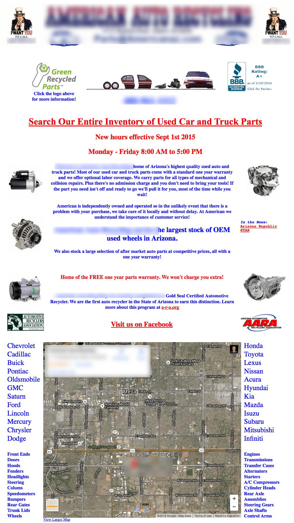 90s homepage