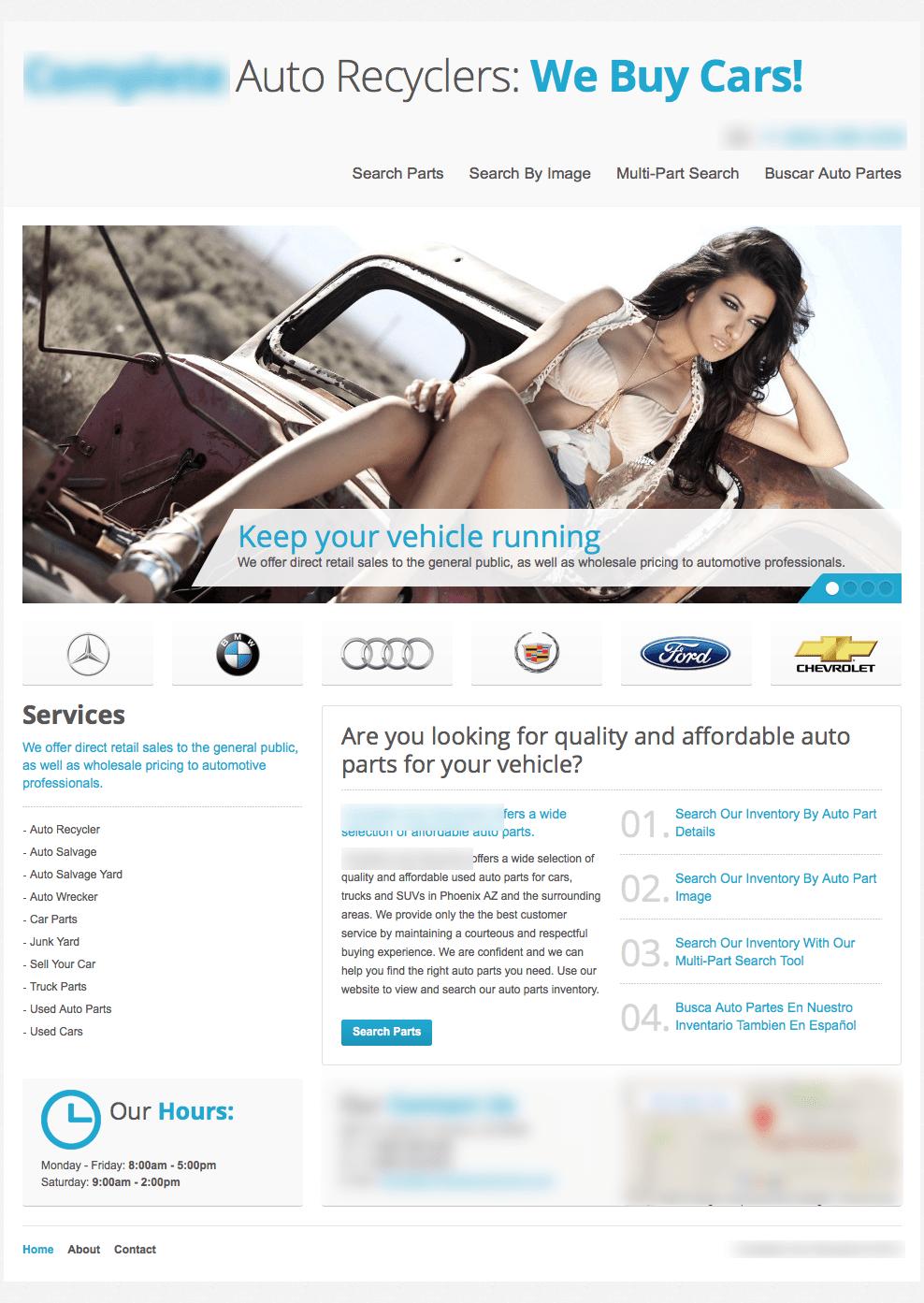 women homepage