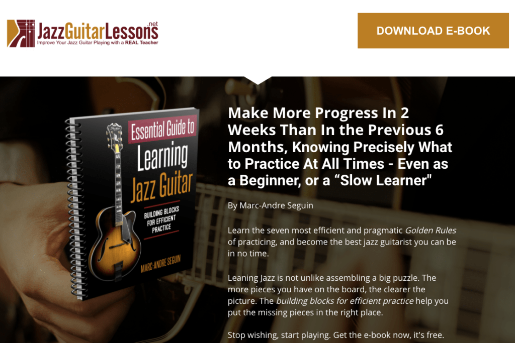 essential guide to jazz guitar